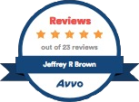 Avvo Reviews Badge
