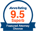 Avvo Rating - Attorney Divorce Badge